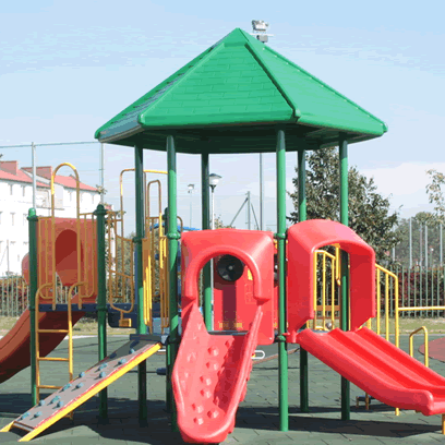 Place zabaw i siłownie zewnętrzne