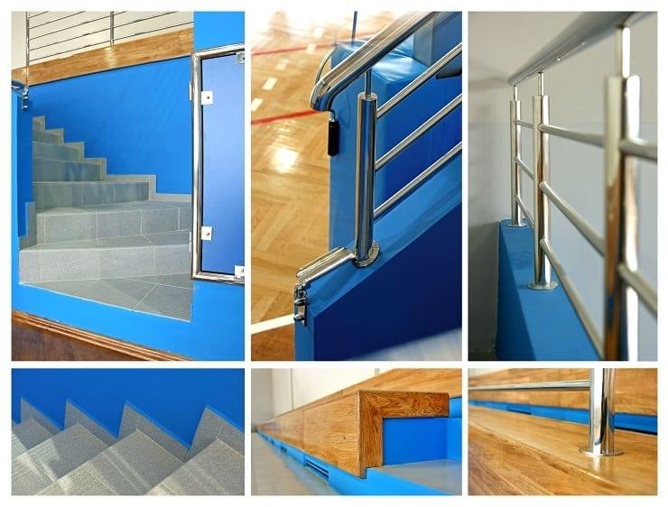 wyposażenie obiektów - balustrady
