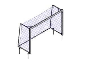 3x2 m Mini football / futsal portable goalpost (120x100 mm)