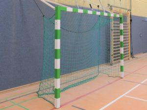 Electrically liftable handball goal (3x2 m)