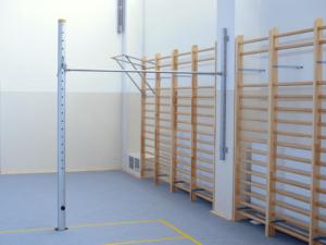 Horizontal bar (upright-wall)