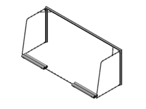 5x2 portable goalpost type 4 (with counterweights)