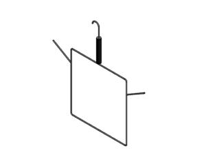 Net hanger (for one volleyball / badminton / tennis net)