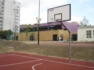 Konstrukcja do koszykówki jednosłupowa 140 cm
