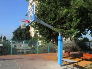 Single post outdoor construction 2,25 m (complete set)