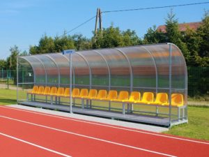 Football team shelter for 3-13 persons