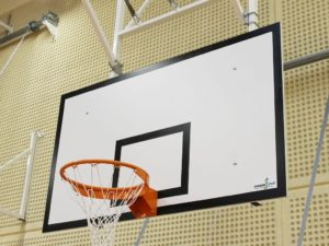 180x105 cm MDF Basketball backboard