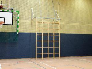 Climbing frames hoistable (3 rows)