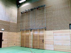 Hoistable-pivoting wall bars