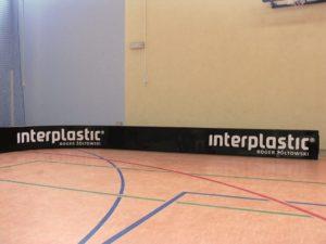Floorball rink 30x15 m black (set)