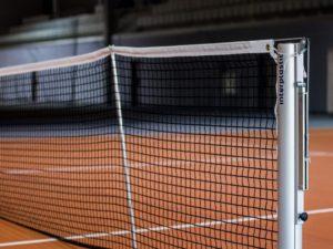 100 mm tennis posts PRO (aluminum)