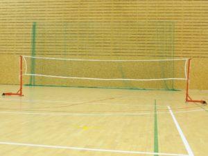 Portable badminton stands STD (~30 kg each)