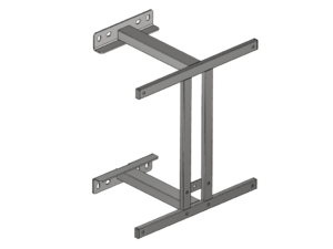 Fixed backboard support structure 400 mm