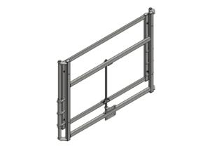 Height adjustment mechanism, manual, for 180×105 cm MDF backboards