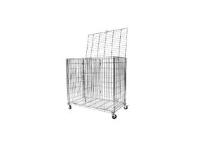 Storage trolley for balls and other sports equipment