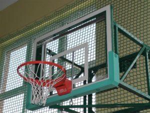 Tablica do koszykówki 120x90 cm akrylowa na ramie stalowej
