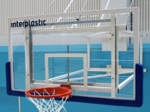 180x105 cm Acrylic backboard on a support frame (indoor)
