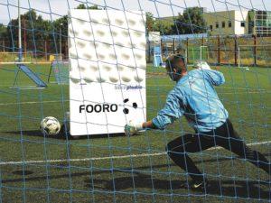 Goalkeeper training wall
