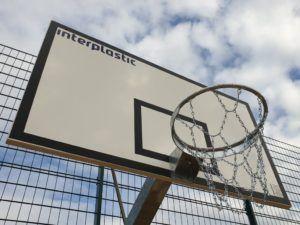 Tablica do koszykówki laminowana 180x105 cm na ramie cynkowanej