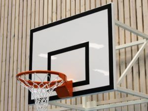 Tablica do koszykówki 120x90 cm laminowana na ramie stalowej