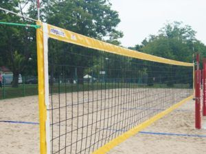 Beach volleyball net PRO with antennae