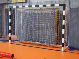 3x2 m aluminum handball goal type 2 STD