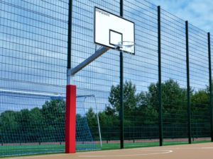 Konstrukcja do koszykówki jednosłupowa 165 cm