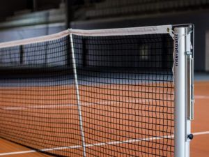 Słupki do tenisa PRO 100 mm (aluminiowe)
