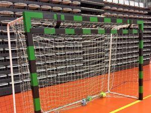 Additional crossbar for HB goalpost