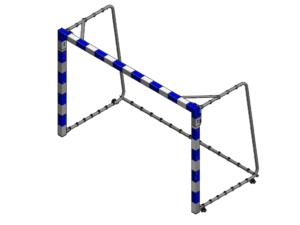 Mini bramka do piłki ręcznej 2,4x1,6 m