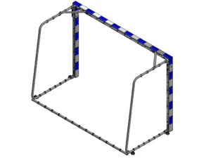 2,4x1,6 m mini handball goal