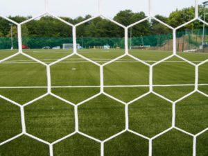 Nets for 7,32x2,44 m goal PP 4 mm HEX (depth 2/2 m)