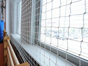Windows' protecting net 2,5 mm, mesh 100x100 mm