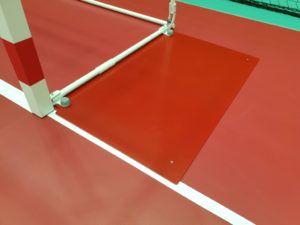 Counterweight plates for 3x2 m IHF handball goal
