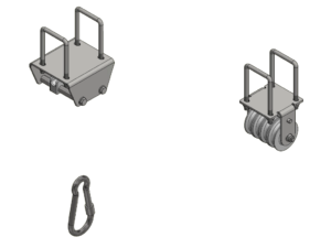 Fixed VSC for 1 pairs of rings - w/o the auxiliary structure and accessories