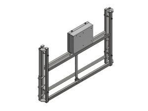 Elektryczny mechanizm regulacji wysokości tablicy 180x105 cm