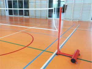 Słupki do badmintona PRO 60 kg / 120 kg