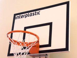 Tablica do koszykówki laminowana 120x90 cm
